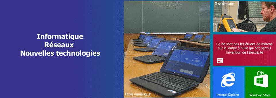 Informatique - réseaux & communication - NTIC